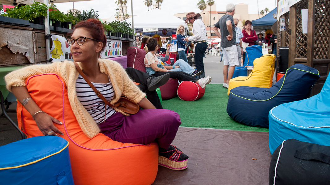 By the end of the day, our muscles were crying out for the lumbar-melding support of Hip Chik chairs, a new local company with seats and footstools inspired by Turkish outdoor furniture.