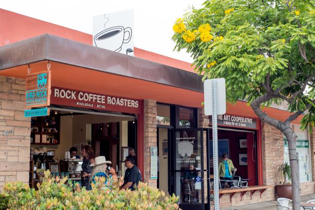 Bird Rock Coffee in La Jolla, California