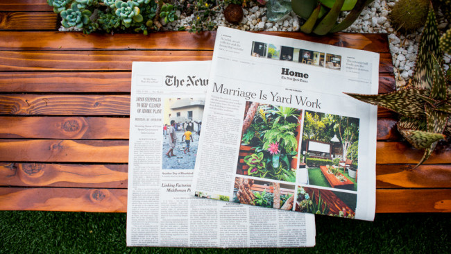 The Horticult in The New York Times, August 8, 2013.