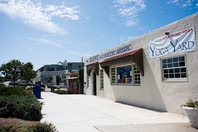 Yoga Yard, Bird Rock, CA