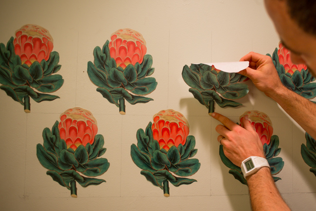 Make Your Own Vintage Botanical Wall Decals The Horticult - Make your own decal for walls