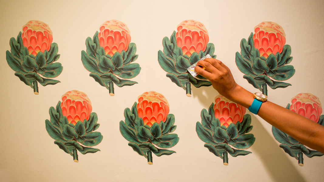Make Your Own: Vintage Botanical Wall Decals