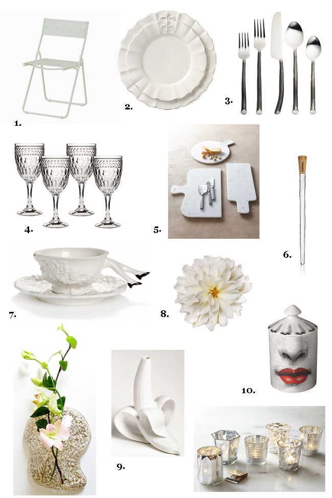 How To Create A White Hot Table Setting For French