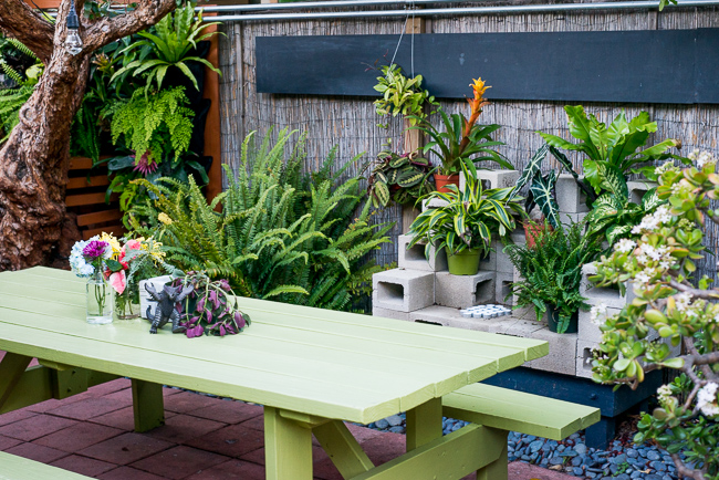 cinder block planter instructions