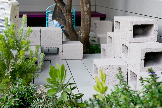 Garden Leaf Blocks : Concrete thinking how to make mod stackable sculptures