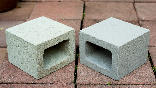 Concrete thinking how to make mod stackable sculptures - Sealing exterior cinder block walls ...