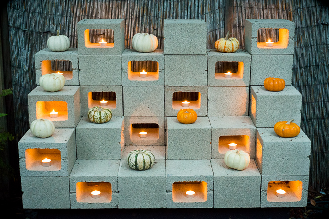 ... to Make Mod, Stackable Sculptures With Cinder Blocks | The Horticult