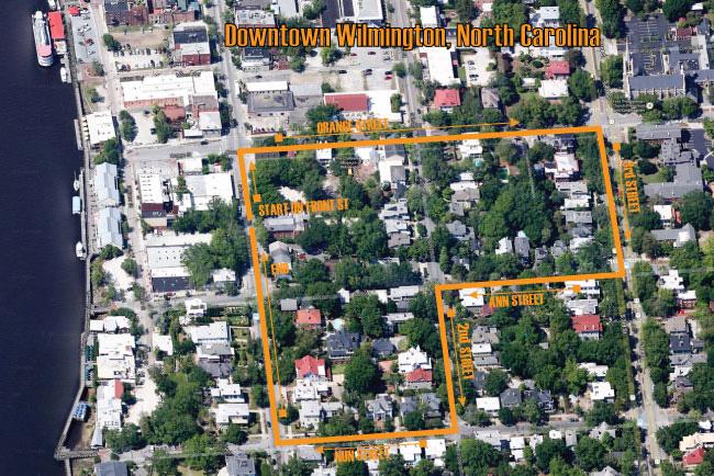Wilmington-Walking-Map