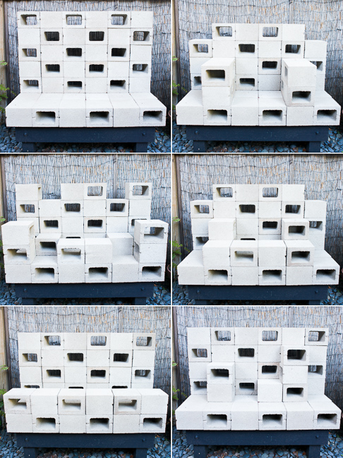 Concrete Thinking: How to Make Mod, Stackable Sculptures ...