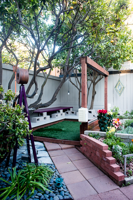 Our garden dirt design and culture for Painting cinder blocks for garden