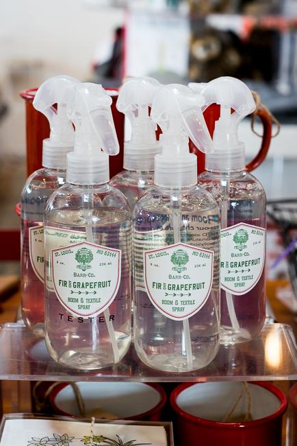 Barr Co. Fir & Grapefruit Room & Sheet Spray - $18.00  http://www.shoppigment.com/barr-co-fir-grapefruit-room-sheet-spray/