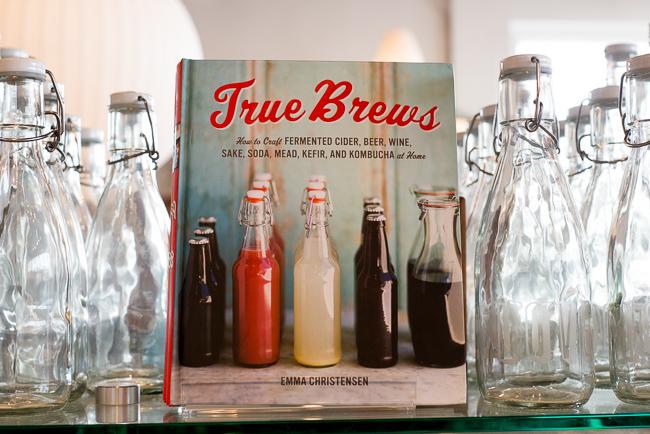 True Brews - $23.00 - How to Craft Fermented Cider, Beer, Wine,  http://www.shoppigment.com/true-brews/