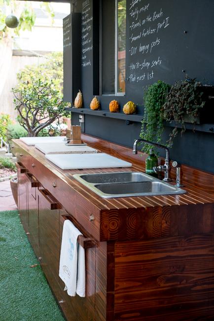 The Horticult Garden Tour - The Kitchen - Ryan Benoit Design