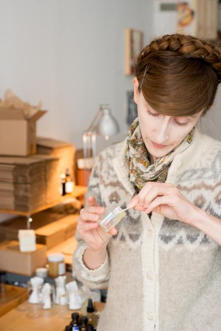 Madesmith solid perfume.