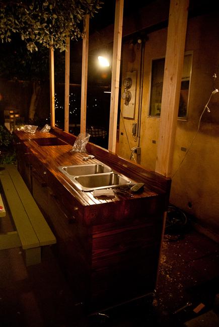 The Horticult Garden Tour - The Kitchen - Ryan Benoit Design - construction
