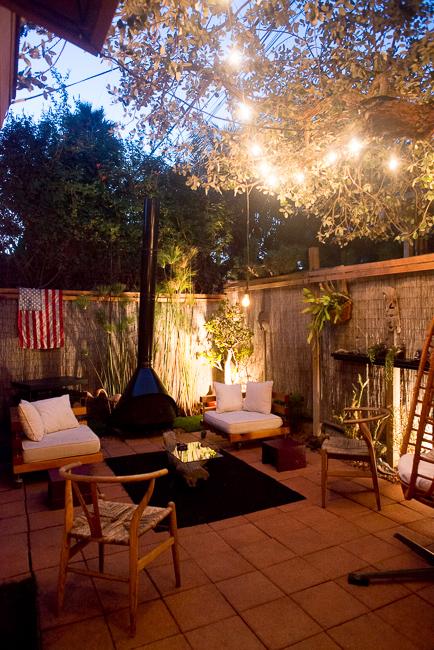 The Horticult Garden Tour - The Fireside Room - Ryan Benoit Design