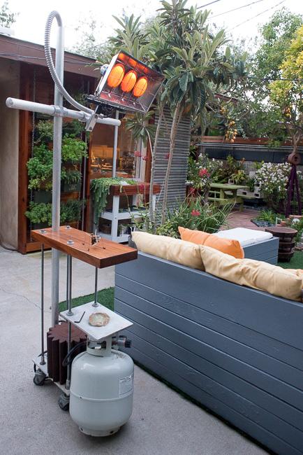 The Horticult Garden Tour - The Sun Room - Ryan Benoit Design - Robot Heater