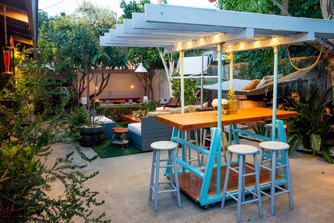 The Horticult Garden Tour - The Arbor Room - Ryan Benoit Design