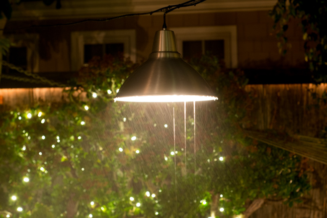 garden lighting idea this ikea pendant lamp survives the. Black Bedroom Furniture Sets. Home Design Ideas