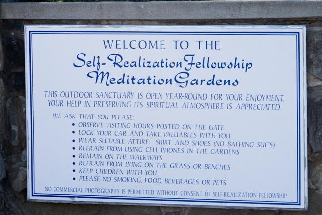 Garden rules.