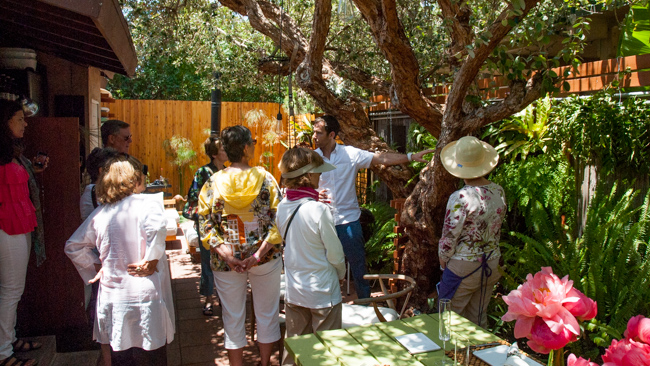 La Jolla Secret Garden Tour - The Horticult Garden - Ryan Benoit