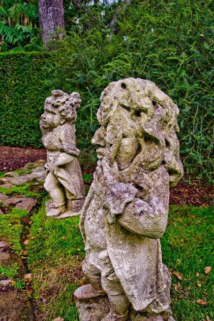 """Grotesques"" in the Theatre Garden"