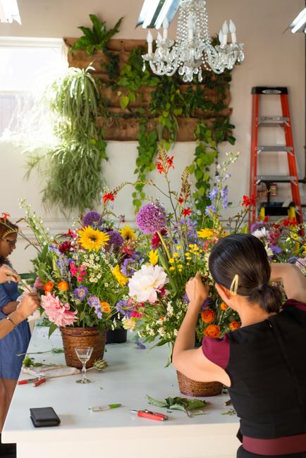 Dutch masters arrangements at Isari Flower Studio