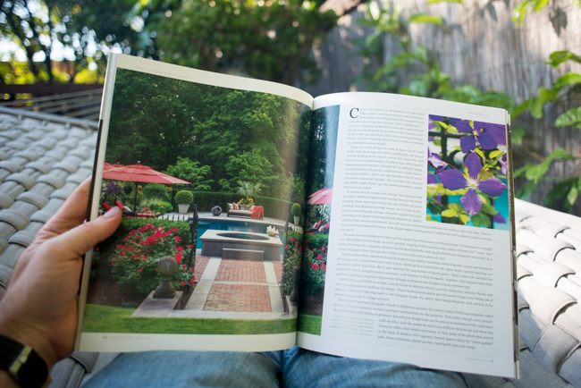 Garden design magazine relaunch for Garten design magazin