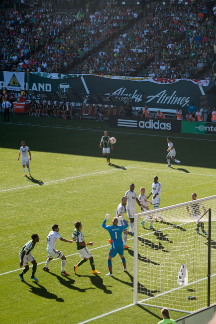 Portland Timbers MLS game verses Vancouver Whitecaps