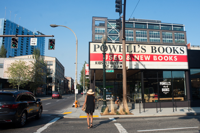 Powell's Books in the Pearl District.