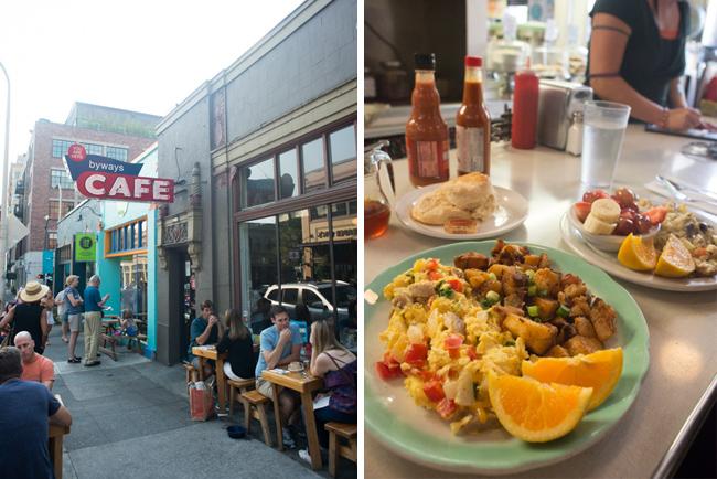 Byways Cafe breakfast.