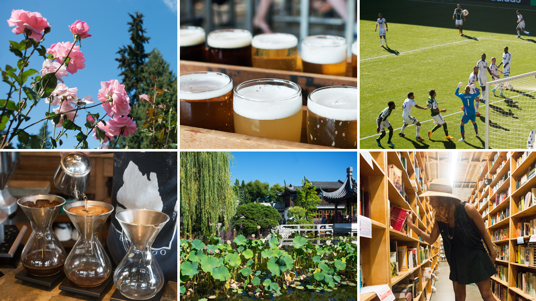 56 Hours In Portland: Coffee, Beer And Botany In The City Of Roses