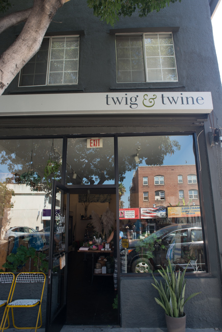 Twig & Twine in East Hollywood