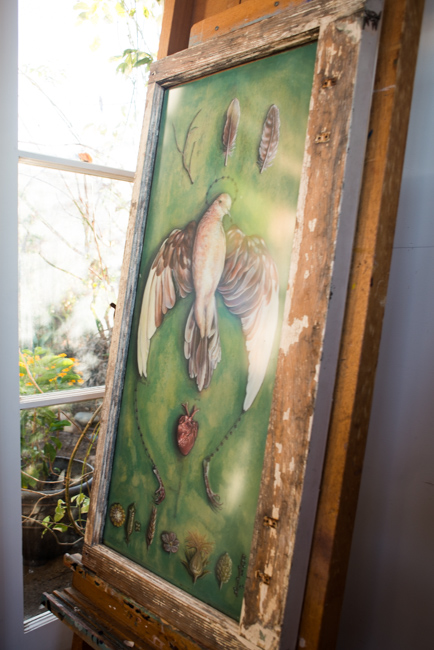 Natalie Bessell - Garden Studio Tour - Featured on The Horticult