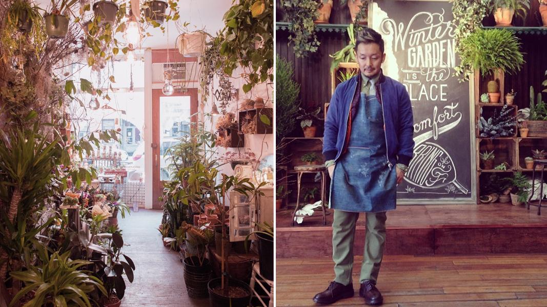 Store Photo by Ryan Benoit; Satoshi Kawamoto Photo Courtesy of Green Fingers