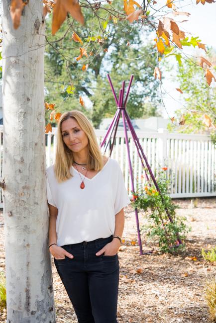 Jennifer Gilbert Asher - Terra Trellis and Terra Sculpture - Garden Tour