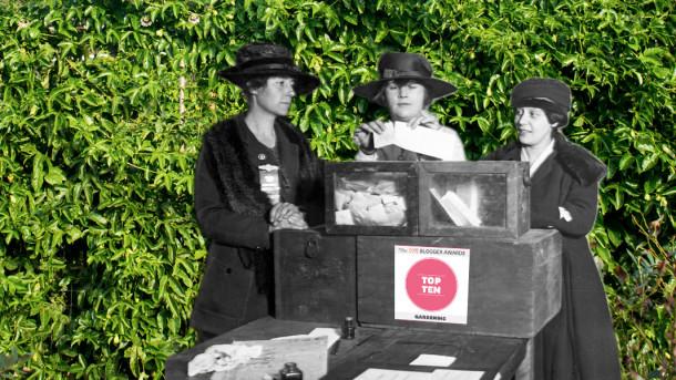 2015 Blogger Awards - Gardening