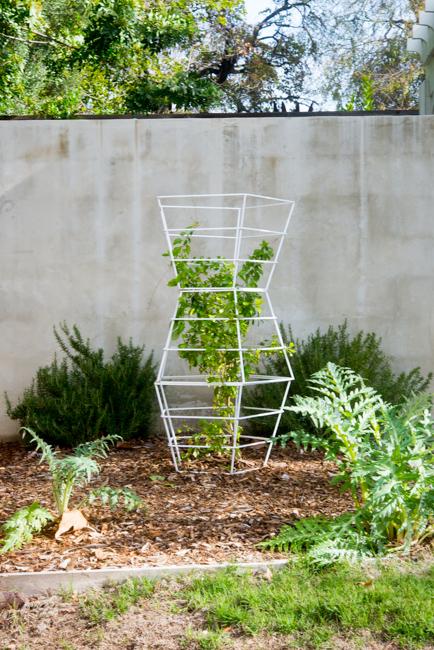 'Geo Tomato Cage' by Terra Trellis