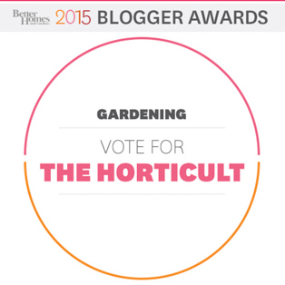 Vote for The Horticult in the Gardening Category
