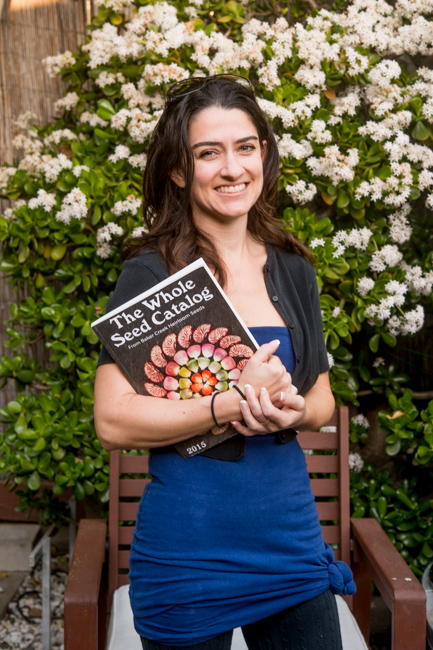 All about heirloom seeds with guest blogger Christine Dionese.