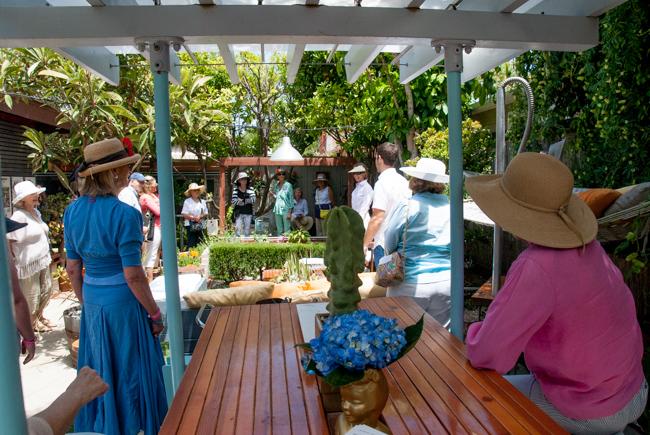 La Jolla Secret Garden Tour - The Horticult Garden - Ryan Benoit Design