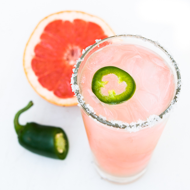 Spicy Paloma Recipe - The Horticult