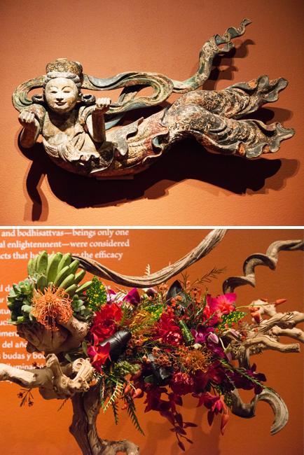 """Aja Wood of Shellshoni Creations - Floral interpretation of """"Apsarus."""""""
