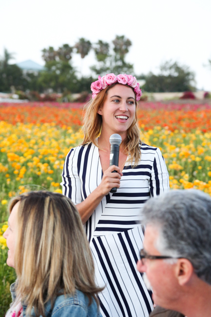 Field to Vase Dinner - The Flower Fields - Carlsbad, CA