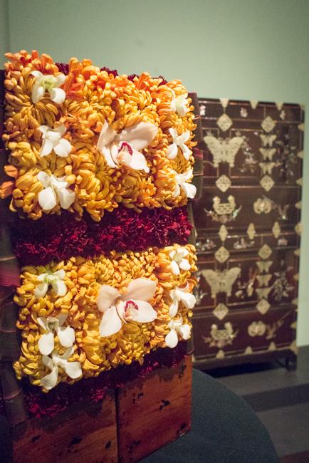 "Lauren Jones of The Twisted Calla — floral interpretation of ""Wedding chest"""