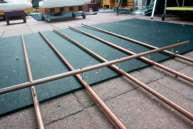 Copper pipe trellis DIY - The Horticult