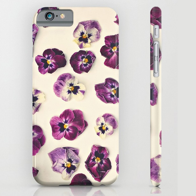 Plant-inspired phone cases.