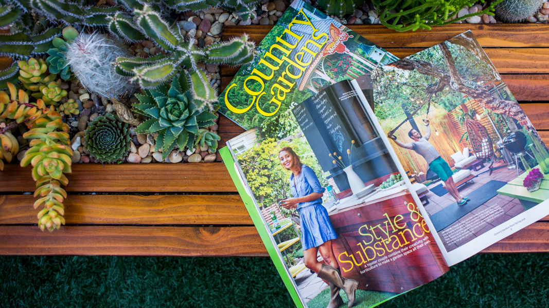 On Stands Now Our Feature in Country Gardens Magazine The