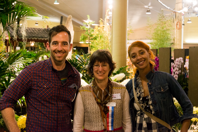 Ryan and I met the amazing Heidi Kirkpatrick, who knows EVERYTHING about orchids.