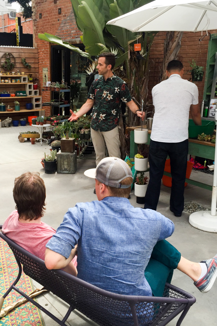 Potted Store - Santa Monica - Grand Opening